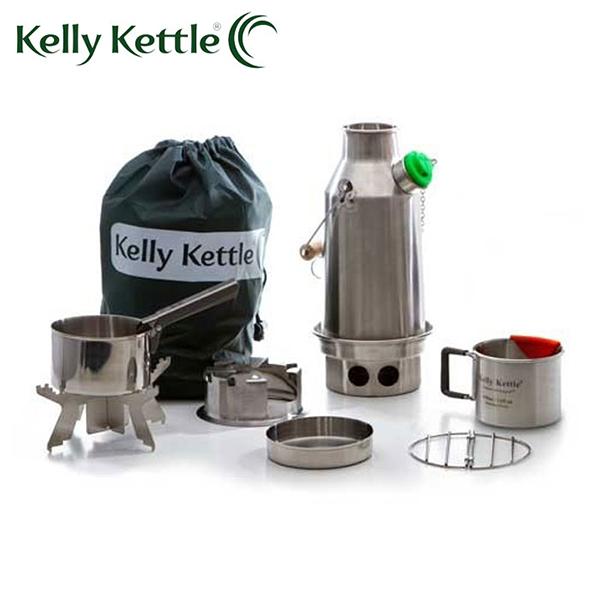 Kelly 人気の定番 Kettleケリーケトル 絶品 トレッカー キット ステンレス 日本正規品 0.6L