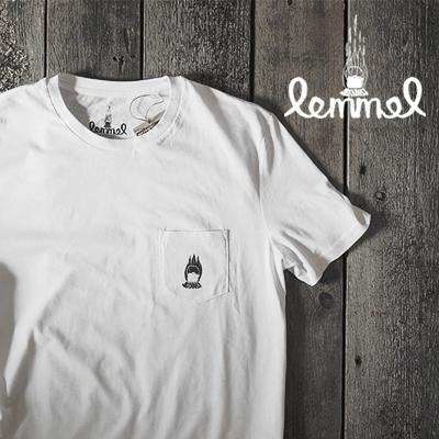 ●スーパーSALE● セール期間限定 Lemmel Kaffe レンメルコーヒーチューティング ホワイト 卸直営 正規品 Tシャツ