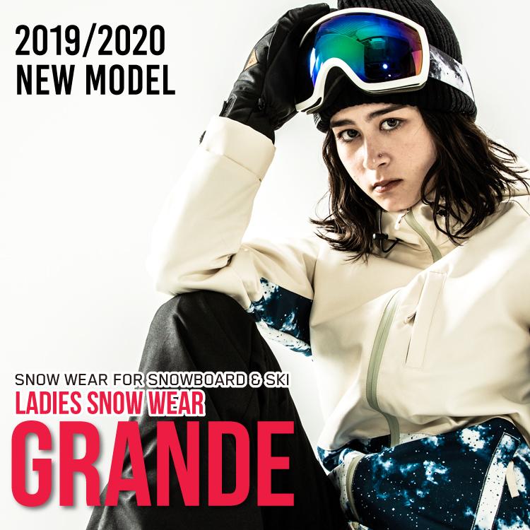 スノーボードウェア スキーウェア レディース 上下 2019-2020 新作 SECRET GARDEN/GRANDE(グランデ)スキー 対応 人気 スノボウェア 上下セット スノーボード ウエア ストレッチ ウェアー20ウェア