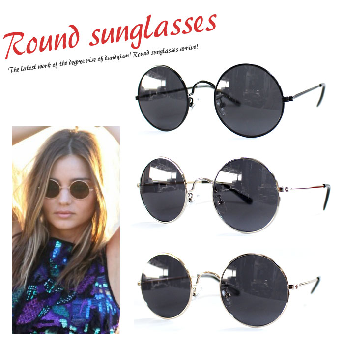 8eb3c2a9a23 Now disco and popularity inside circle lens sunglasses appeared at last!  Types of popular celebrities and foreign celebrities wear!