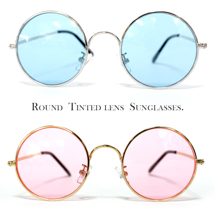 86eb6d179ee The popular round Megan thin lens! Sunglasses and little... For anyone who  is of non-recommended 1. Can be wear in ITA glasses color lens so the  stylish ...