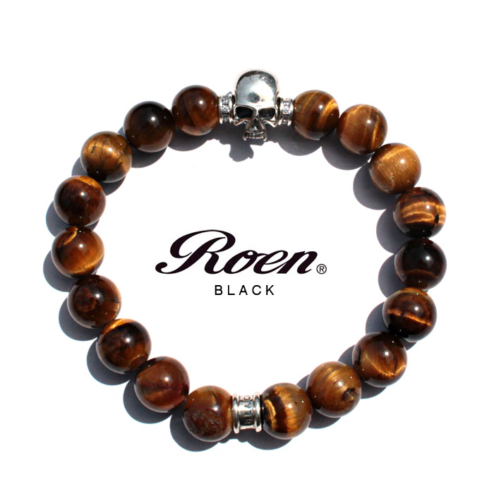 Roen Rouen Black Than Using Natural Stone Bracelets In Stock