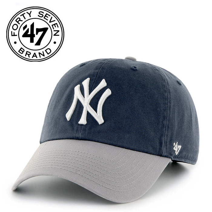 fd9c16a711d58 ... promo code for 47 brand yankees 47 clean up navygray 47 brand 47 brand  clean up