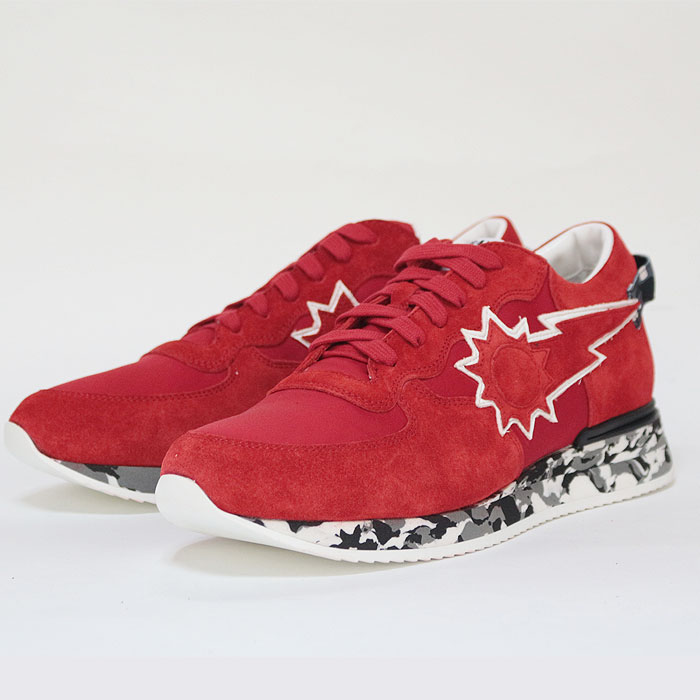 f5bbb8656aa6a upper gate: URBANSUN Urban sun sneakers andre059 red low-frequency cut men  MENS men shoes shoes RED red camouflage camouflage | Rakuten Global Market