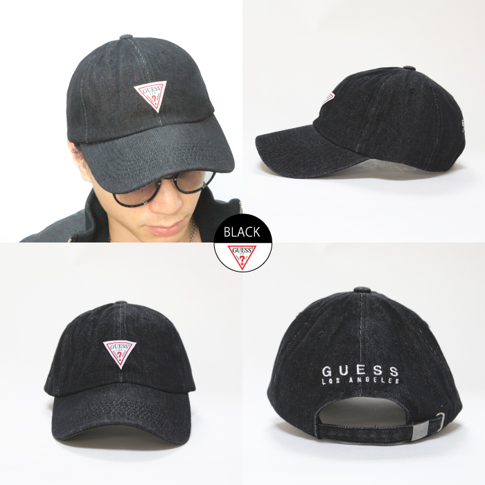 ac0b58837766a A cap of popular brand GUESS! Although the brand logo patch errand of the  front desk that is a brand icon of GUESS (ゲス) is simple with a point  ...
