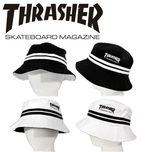46d315461d1 02P01Oct16THRASHER   slasher bucket Hat MAG LOGO embroidered back mesh Hat  mens ladies Street casual skater hip hop B-