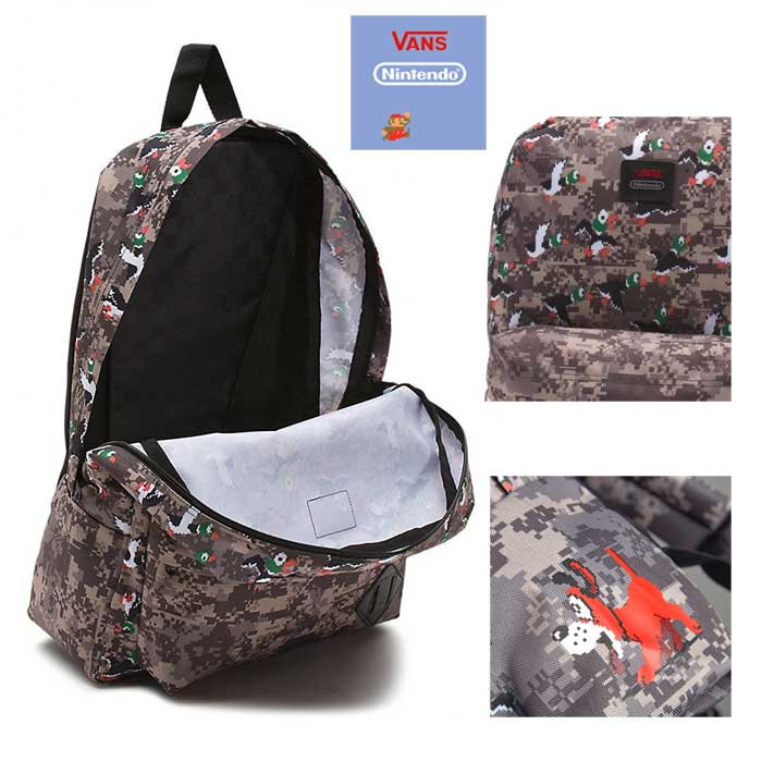 5013106967b3 VANS (vans) X Nintendo NINTENDO collaboration BACKPACK OLDSCHOOL2 Duck Hunt  backpack men Lady s rucksack VN000NKGN