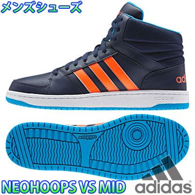 阿迪達斯新箍 VS 中期男式休閒鞋運動鞋阿迪達斯 NEOHOOP VS 中期 F98398