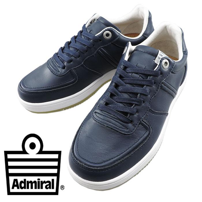 67ea368dc1f7 アドミラル カーディフ メンズスニーカー ADMIRAL レディースシューズ レザーシューズ ローカット ファッション公式ブランド