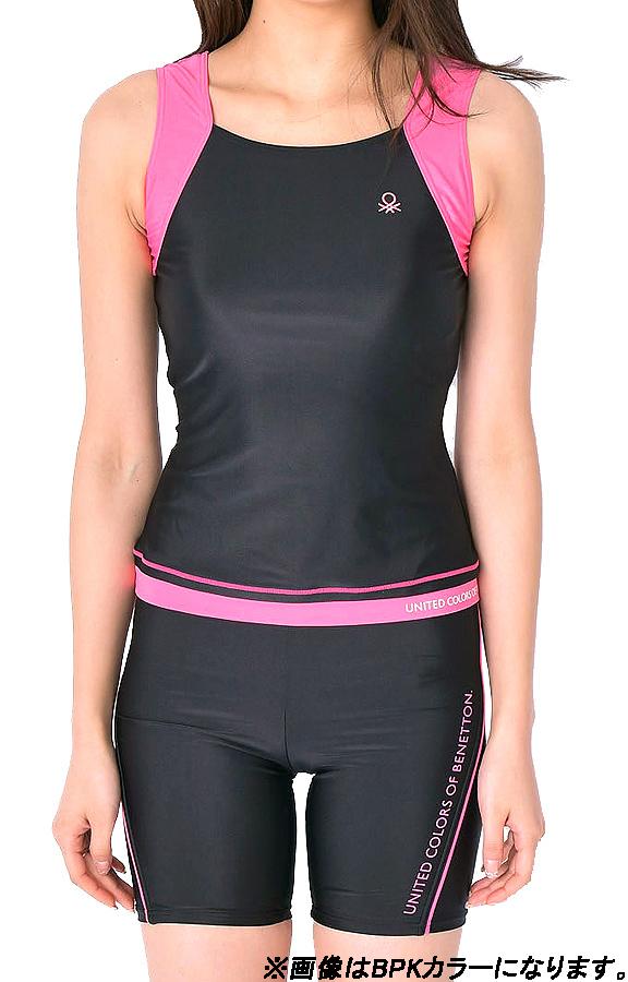有Benetton女士泳衣分離健身泳衣蓋子的tankini BENETTON 316-803