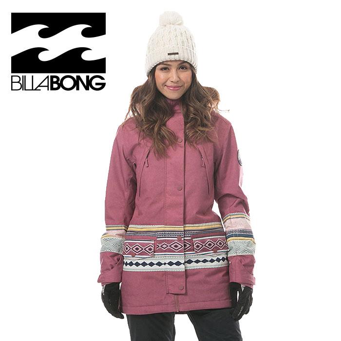 人気 スノーボードウェア レディース ビラボン スノボウエアー かわいい ファー付き BILLABONG AI01L750