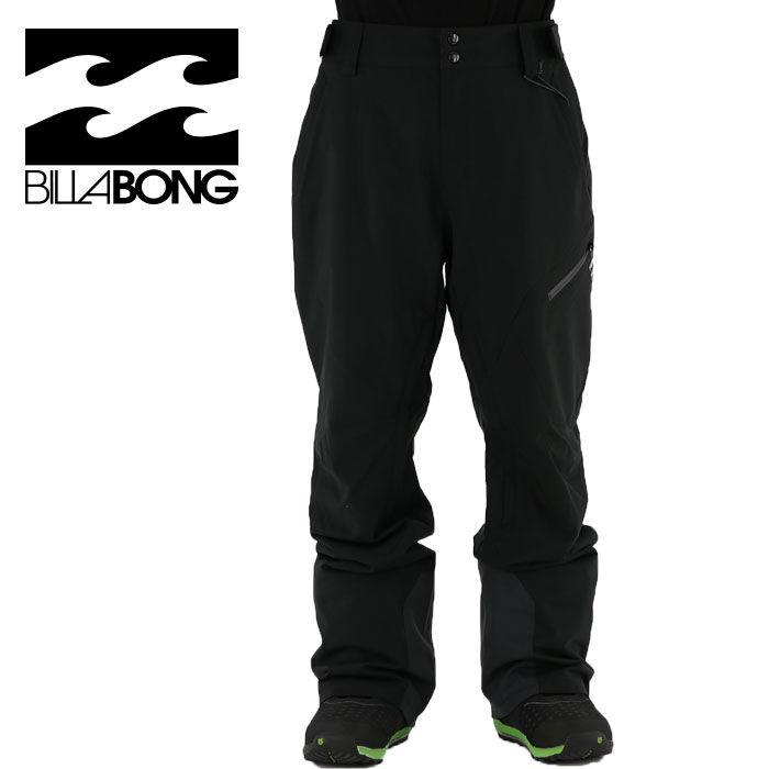 スノーボードパンツ メンズ ビラボン スノボーパンツ スキー用 スノーボード用パンツ BILLABONG AH01M704 スキーウェア 長ズボン ウェア シンプル 男性 紳士 アウトドア ボードウェア ウエア メンズパンツ 防水