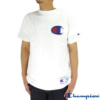 upsports | Rakuten Global Market: Champion big logo T shirt short ...