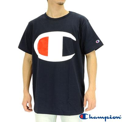 upsports | Rakuten Global Market: Champion big logo T Shirt Navy ...