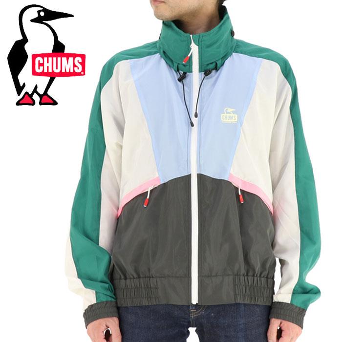 チャムス メンズジャケット ナイロン 80ズジャケット アウター 80S レトロデザイン マルチカラー