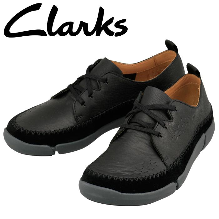 クラークス CLARKS トライフライレース Trifri Lace 26127201 ブラック 821E_B メンズ カジュアルシューズ