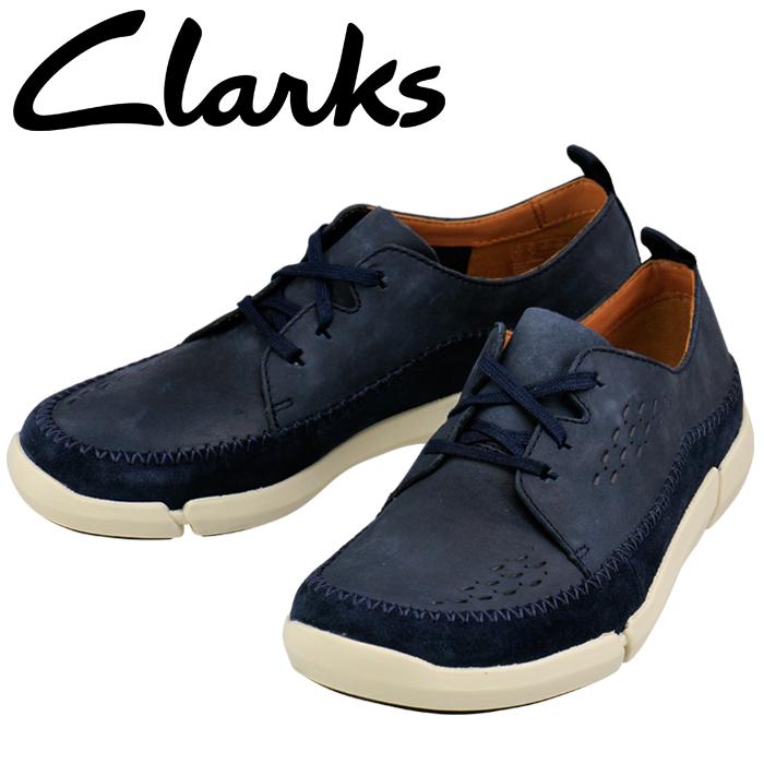 クラークス CLARKS トライフライレース Trifri Lace 26127211 ネイビー 821E_NVYS メンズ シューズ