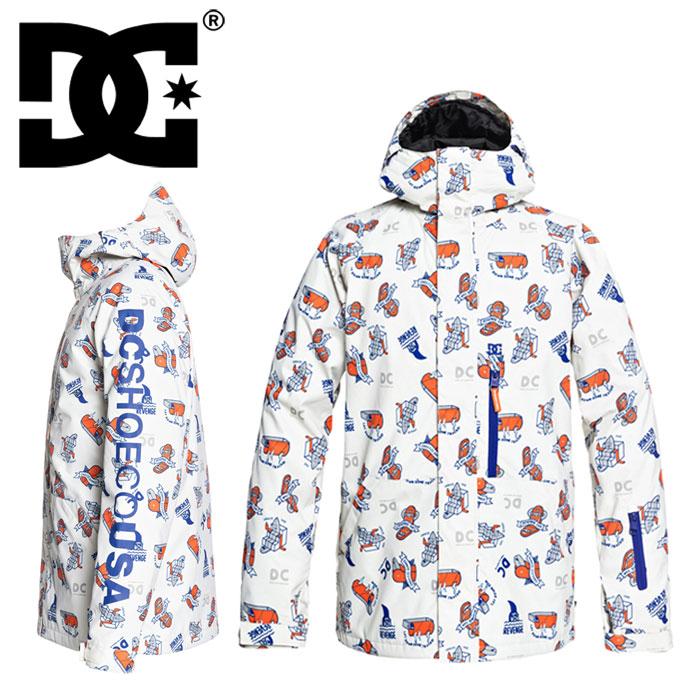 ディーシー スノー ウェア メンズ ジャケット リプレイジャケット プリン柄ト DCSHOES スノーボード スキー