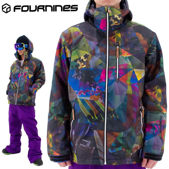 セール 男女兼用 FOURNINES スノージャケット スノーボードジャケット フォーナインズ スノーウェア 4N-1601
