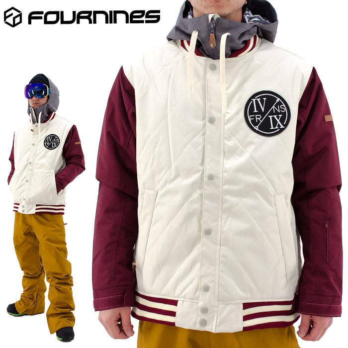 SALE フォーナインズ ジャケット ウェア スノージャケット FOURNINES スノースタジャン 4N-1603 男女兼用