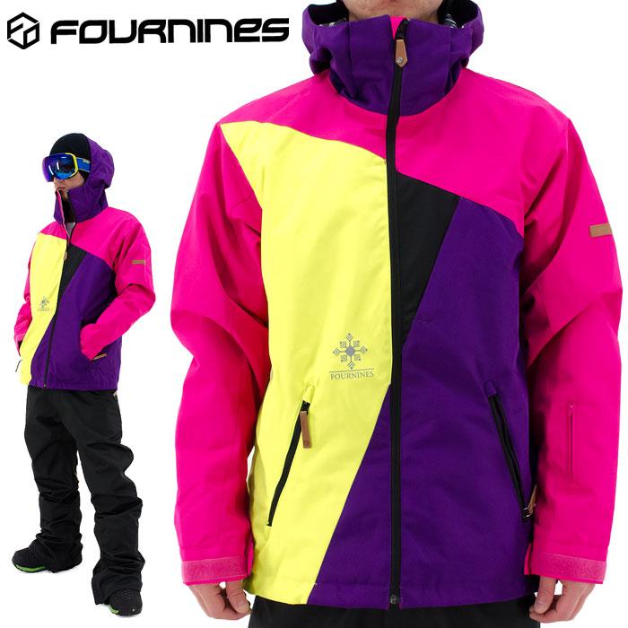 セール FOURNINES スノーウェア 4N-1604 ジャケット フォーナインズ ボードウェアー 男女兼用 スノボウェア 即納 人気 スノーボードウェア ユニセックス 男女兼用 2016-2017 かっこいい ストリート アウター 通販 販売