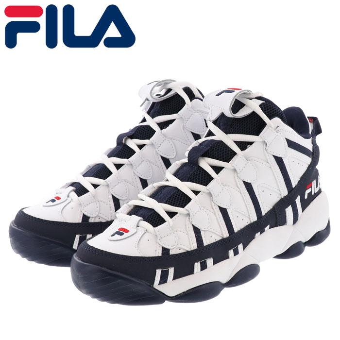 フィラ スパゲティー バスケット シューズ メンズ レディース スニーカー FILA F0206-0001 白色 ホワイト