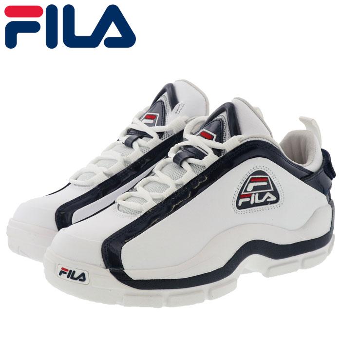 フィラ メンズ バスケットシューズ 96 グラントヒル ロー F0316-0125 白 ホワイト ネイビー レッド 即納 人気ブランド