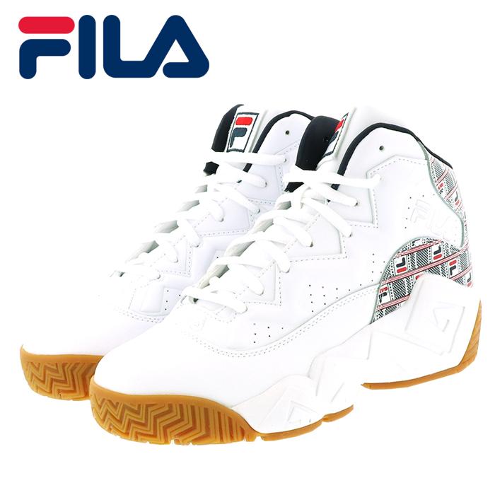 フィラ マッシュバーン ヘイズ バスケットシューズ メンズ スニーカー FILA F0386-125 ホワイト