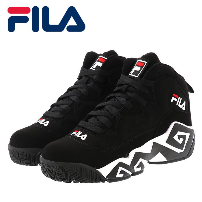 フィラ マッシュバーン バスケットシューズ レディース メンズ スニーカー FILA FHE102-001 ブラック