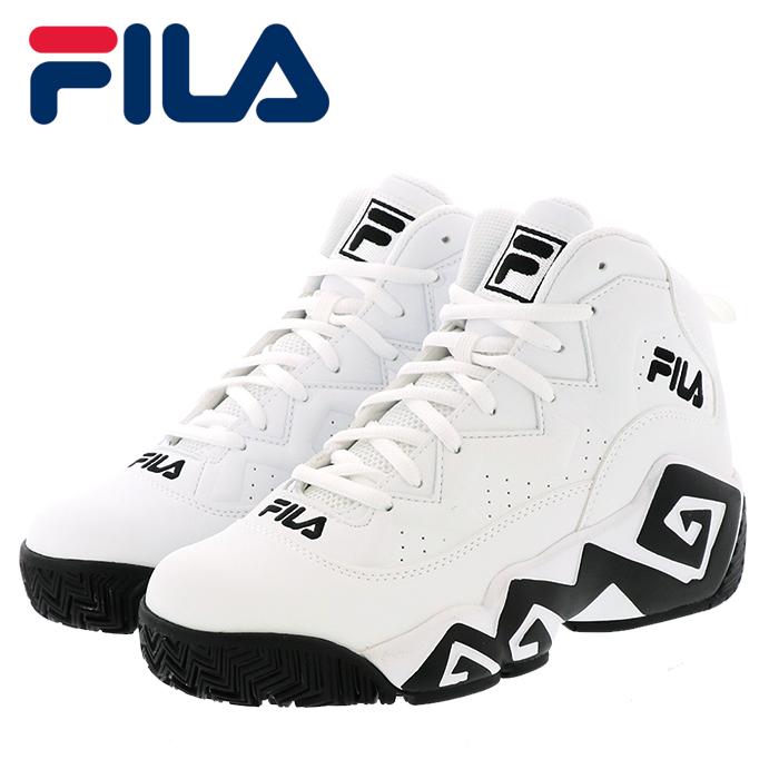 フィラ マッシュバーン メンズ レディース バスケットシューズ スニーカー FILA FHE102-005 ホワイト