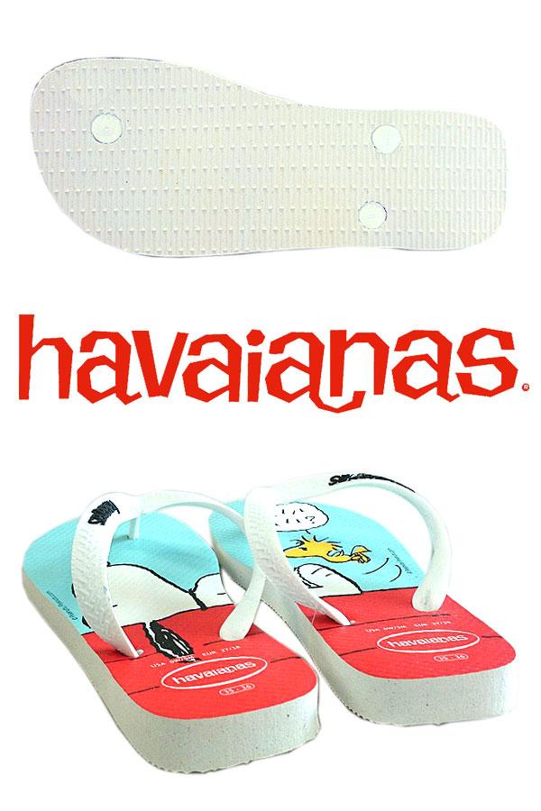 哈瓦那人字拖拖鞋女式涼鞋史努比哈瓦那人字拖 4132617 史努比設計