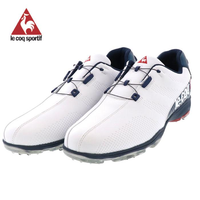 ゴルフシューズ ルコック le coq sportif GOLF ルコックゴルフ QQ2NJA00 ホワイト 即納 人気 おすすめ 人気ブランド