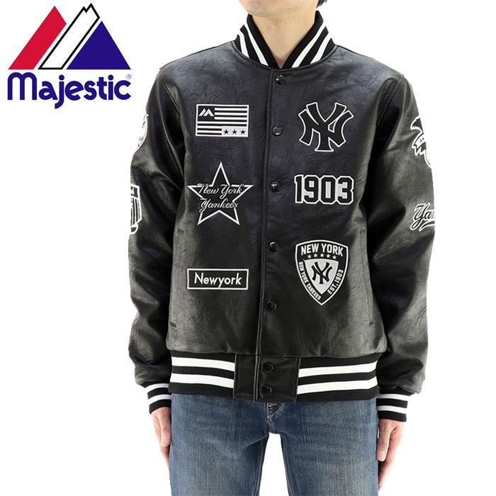 MAJESTIC ジャケット マジェスティック スタジャン ヤンキース MM23NY8F12