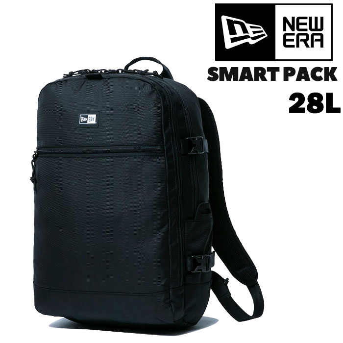 改良版 ニューエラ スマートパック 25L ブラック リュックサック 黒 NEWERA SMARTPACK 11556610