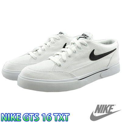 Nike GTS 16 Textile Men's Casual Shoes White/black