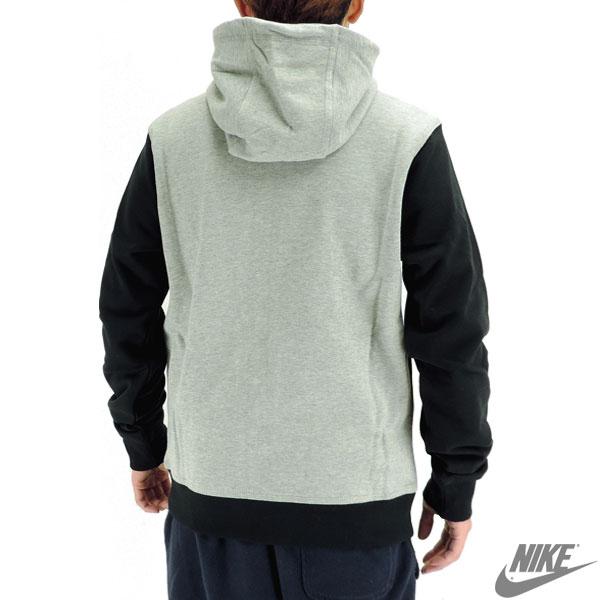 NIKE耐吉俱樂部法式特裏誰D人運動衫Parker背後毛素色NIKE 637906 2015SP