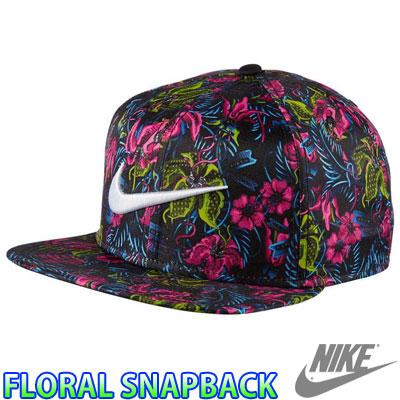 耐克 657514 帽子耐克帽帽子花頂嘴熱帶的花藝設計