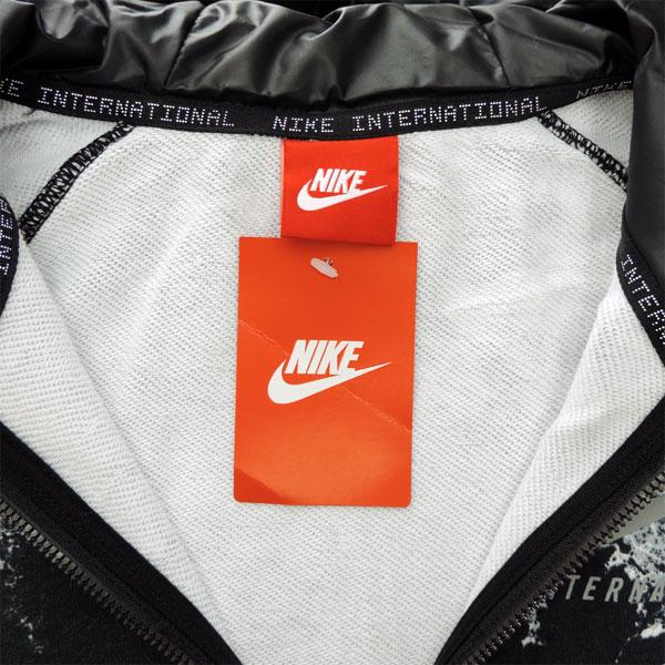 Nike men's sweat parka 802368 hood with NIKE casual street
