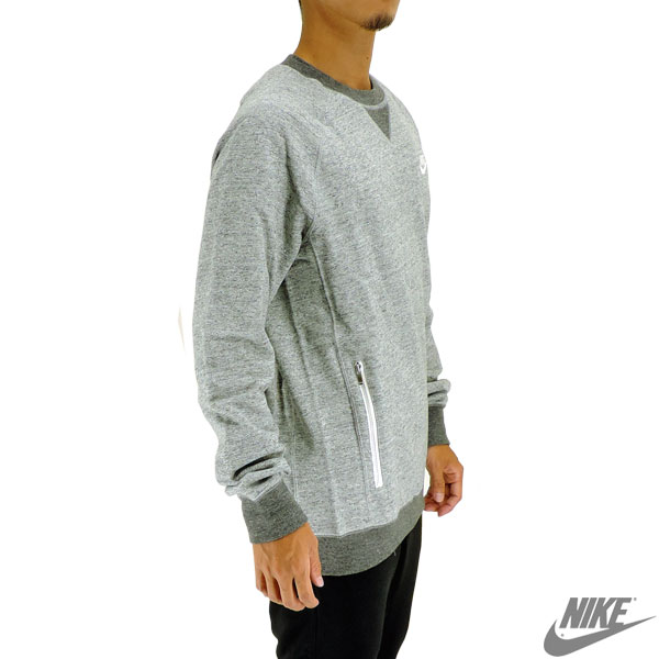 Nike trainer Legacy French Terry crew sweat shirt men casual street NIKE  805056