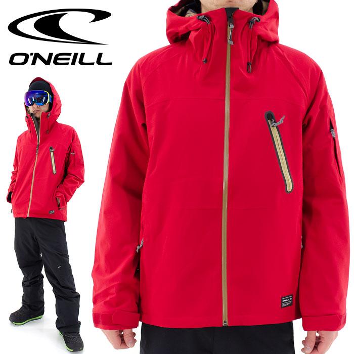 スノーウェア オニール スキーウェア ストレッチ 646102 スノボ ONEILL 無地 メンズジャケット