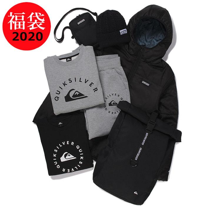 クイックシルバー 福袋 2020年 QUIKSILVER メンズ 人気 サーフブランド福袋 7点入り 数量限定 QZ5259722