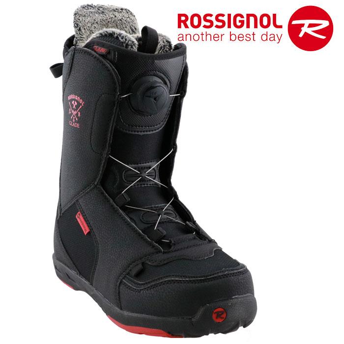 ロシニョール TGFダイヤル式 スノーボードブーツかんたん着脱 ROSSIGNOL GLADE TGF メンズ スノボ 黒 初心者 レディース ジュニア 初めて 販売 通販 即納 入門