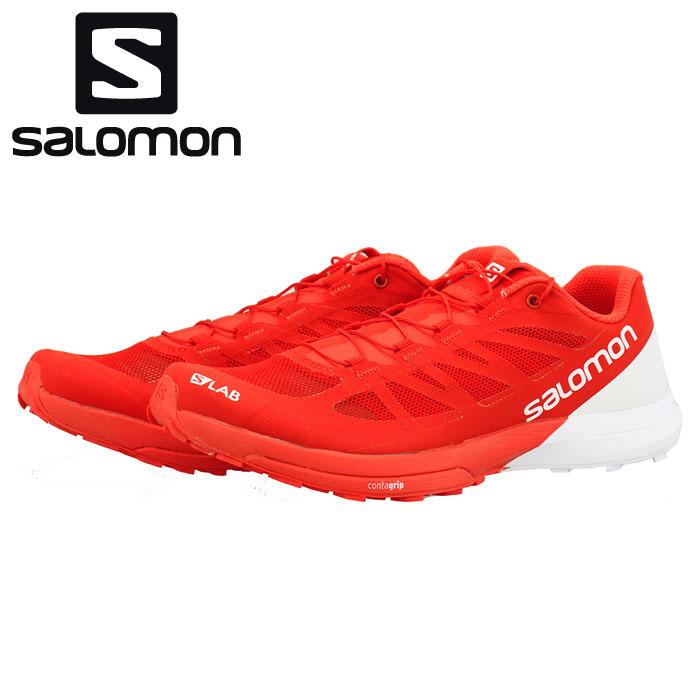 トレラン サロモン エスラボ センス 6 トレイルランニングシューズ レッド 赤色 SALOMON S/LAB SENSE6 通販 販売 即納