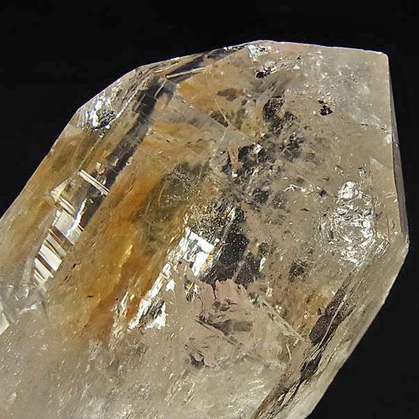 ヒマラヤ水晶 単結晶 原石 六角柱【最高品質】【サインジ産】【約257.5g】天然石|水晶|ヒマラヤ水晶|サインジ渓谷|サインジバレー|クラスター|単結晶|レインボー|ポイント