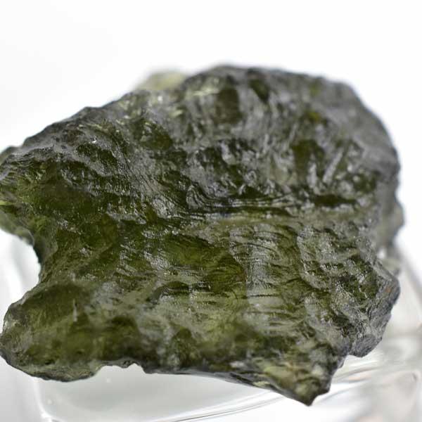 モルダバイト AAAA 原石 チェコ産大粒【約6.5g】 |モルダウ石|天然石|パワーストーン|天然ガラス|グラスメテオライト|ボトルストーン|