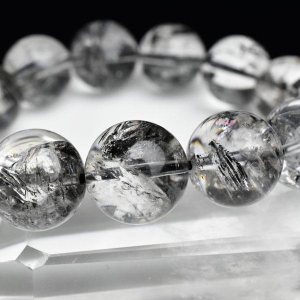 エレスチャル 最高級 AAAAA 骸骨水晶 ブレスレット■約14.5mm×15珠■エレスチャル|エレスチャルクォーツ|ブレスレット|数珠|天然石 パワーストーン ■39ショップ■