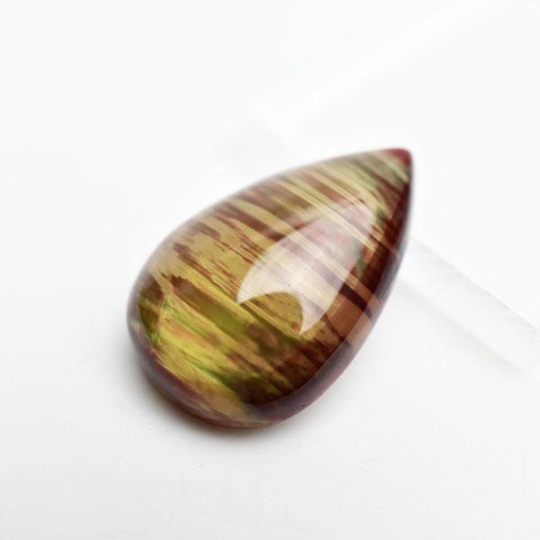 アンデシン AAAAA カボション ルース タンブル■チベット産■約4.8gペアシェイプ|カボション|カラーチェンジアンデシン|中性長石|裸石|ルース|タンブル|天然石|パワーストーン| ■39ショップ■