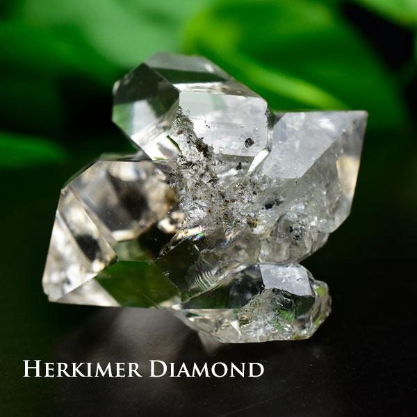 ハーキマーダイヤモンド 結晶 原石 クラスターAAAA■アメリカ・ニューヨーク州ハーキマー地区産■【約55.5g】ハーキマーダイアモンド 天然石 パワーストーン 結晶 原石 ハーキマー水晶 レインボー  ■39ショップ■