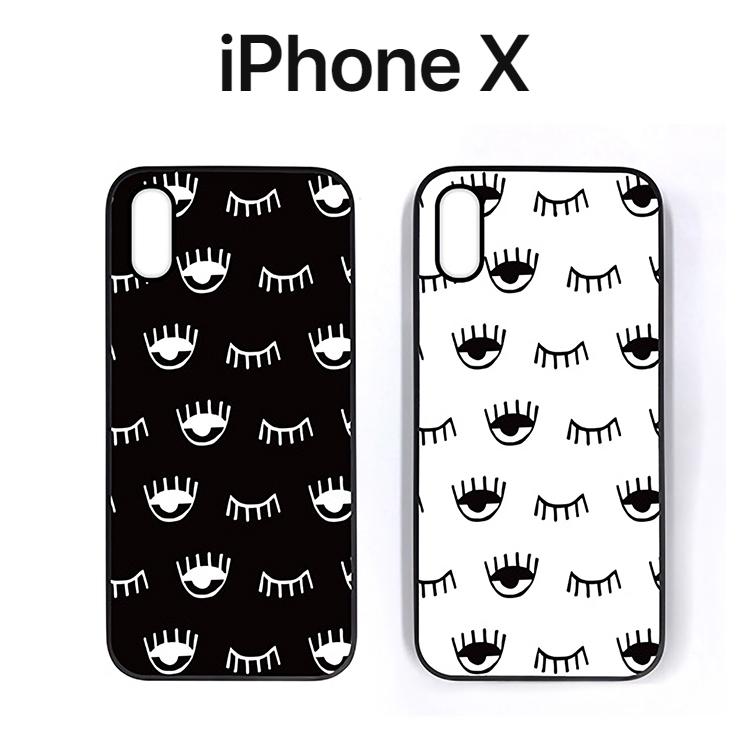 いよいよ人気ブランド iPhone X アイフォン かわいい スリム 軽い バーケース iPhoneX アイフォンX カバー Dparks ケース 高い素材 お取り寄せ ウィンク ディーパークス ブラックケース