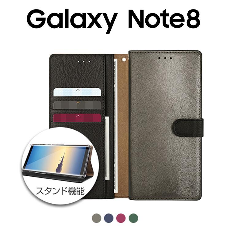 ギャラクシー ノートエイト シンプル チェック おしゃれ Galaxy Note8 ケース 保障 手帳型 HANSMARE カーフケース カバー お取り寄せ 新品 送料無料 CALF SCV37 SC-01K CASE ギャラクシーノート8 ハンスマレ